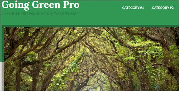 Green Pro Genesis WordPress Template