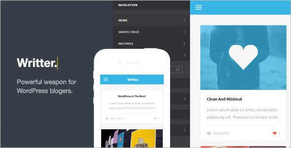 Grid Based Mobile Friendly WordPress Theme
