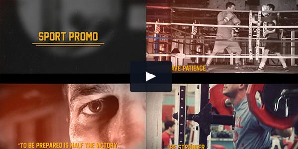 Grunge Sport Promo PDF Tutorial Template