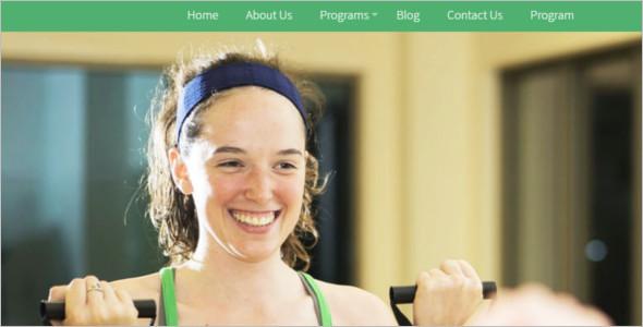 Gym Center Website Template