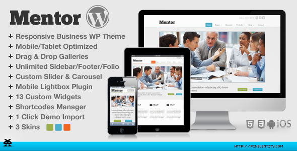 HTML5 WordPress Themes & Templates