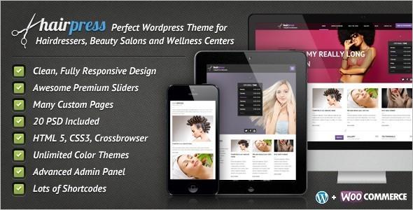 Hair Salons Business WordPress Template