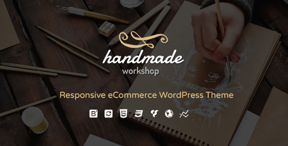 Handmade Functional WordPress Theme