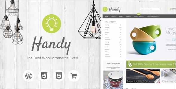 Handmade WooCommerce Template