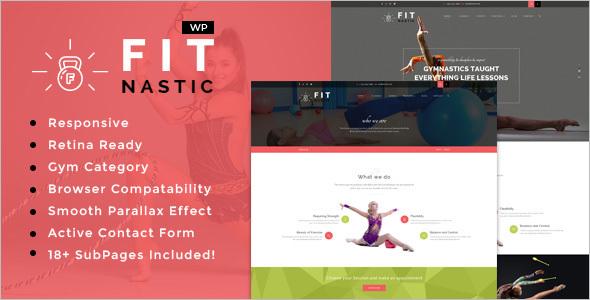 Health & Beauty Fitness WordPress Theme