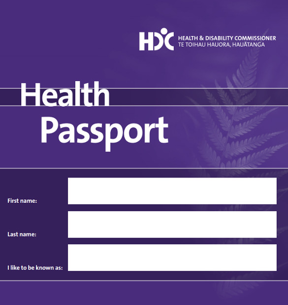Health Passport Template