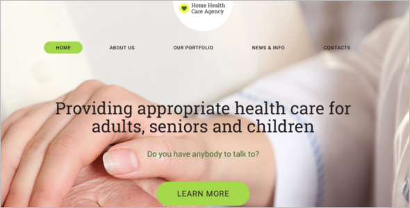 Health care Clinic WordPress Template