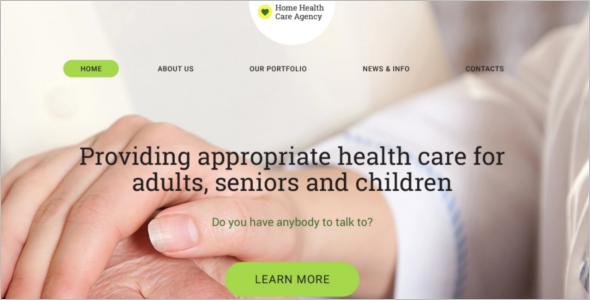 Health care Clinic WordPress Template