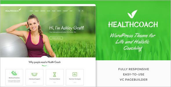 Healthy Life WordPress Template