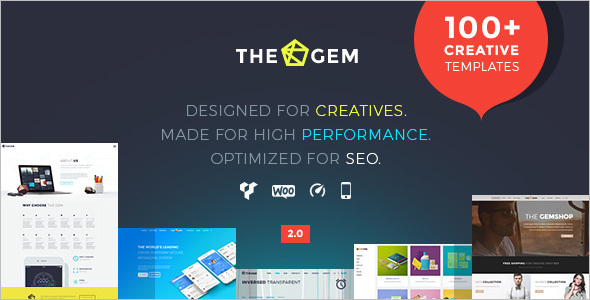 High-Performance WordPress Template
