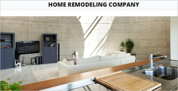 Home Remodeling WordPress Template