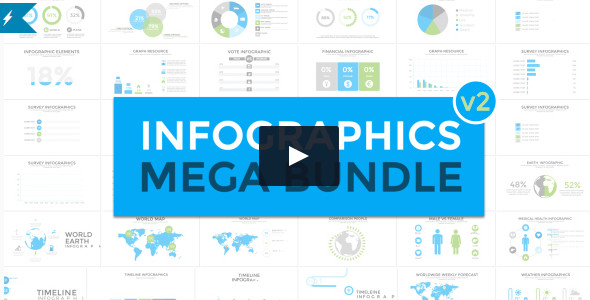 Infographics Element Mega Bundle Video