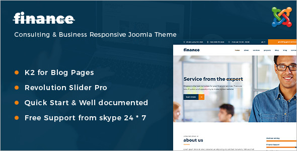 Insurance Blogger Website Template