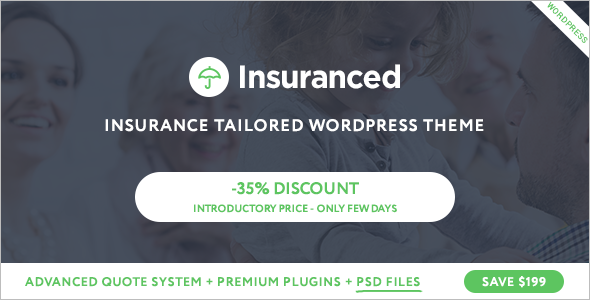 Insurance Business Website Template