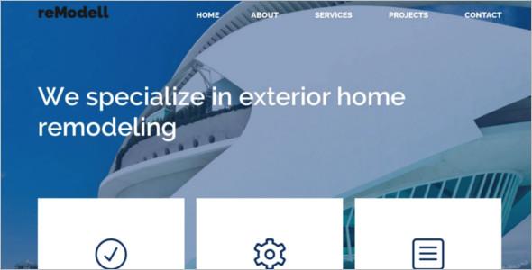 Interior Architecture WordPress Template