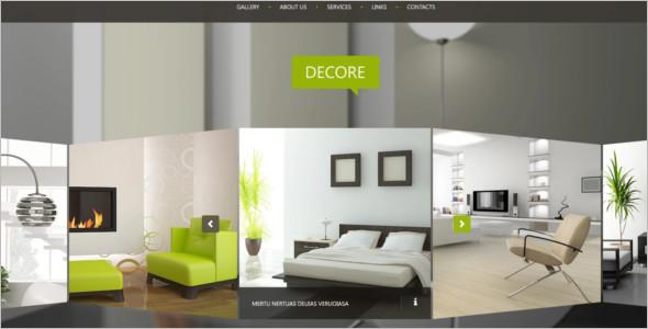 Interior Decorater WordPress Template