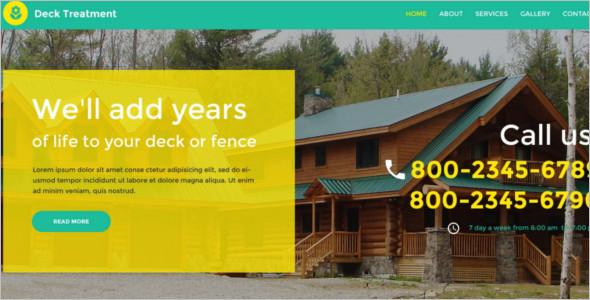 Interior Furnature WordPress Template