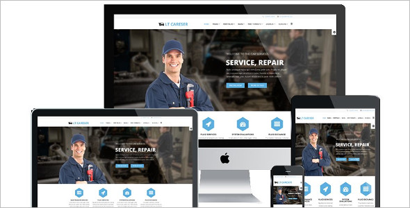 LT Careser is Premium Joomla template