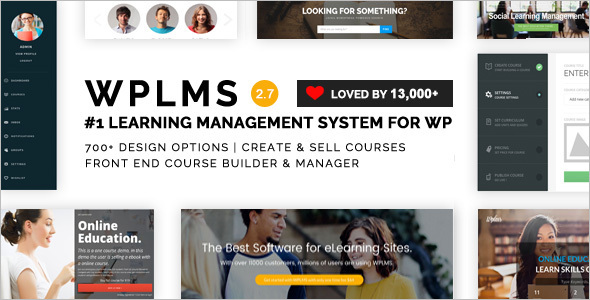 Learning Management WordPress Template