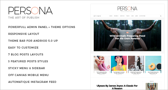 LifeStyle Blogger Template
