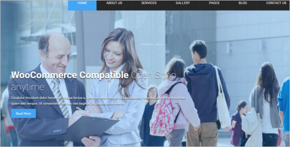Local Business Project WordPress Template