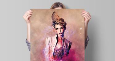 London Fashion Flyer Template