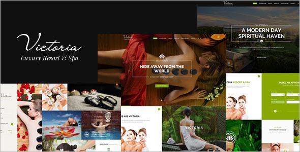 Luxury Resort Shopping WordPress Template