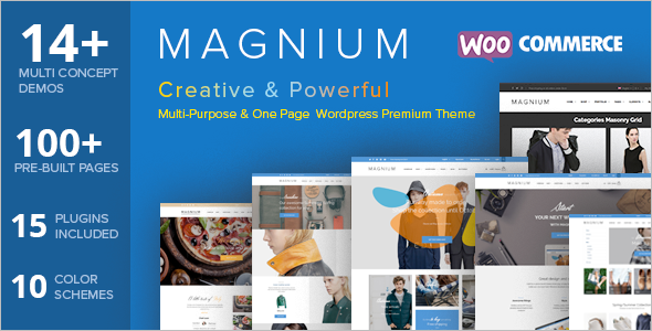Magnium Online Shop E-commerce Template