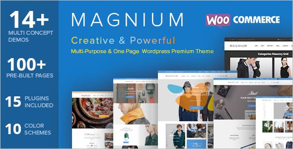 Magnium Online Shop E-commerce Template