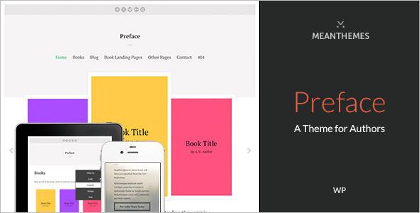 Marketing WordPress author Templates