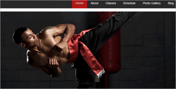 Martial Karate WordPress Template