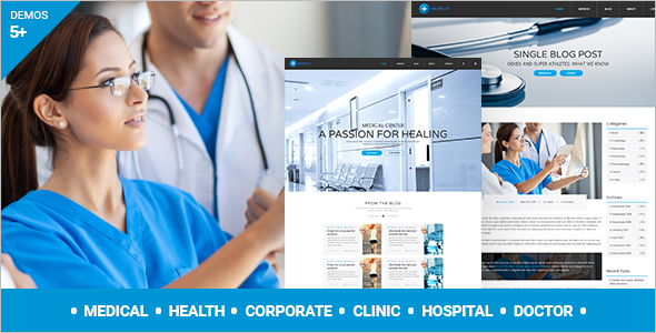 MedPlus Medicine WordPress Website Theme