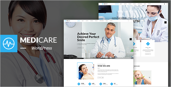 MediCare WordPress Website Template