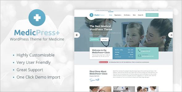 Medical-Clinic-WordPress-Website-Template