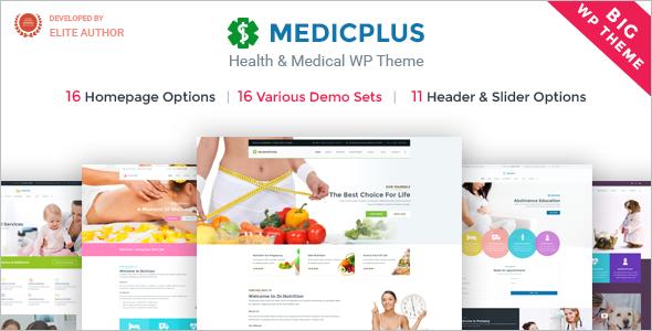 Medical & Health WordPress Medic Plus