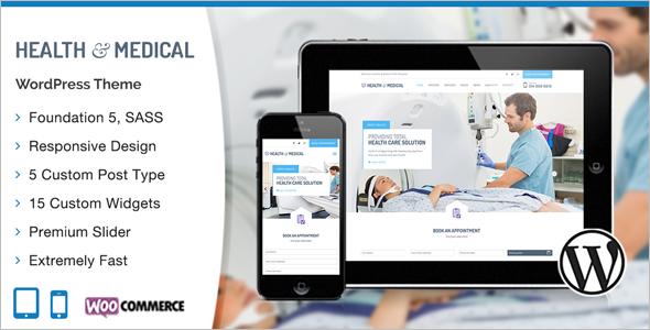 Medical Health care W ordPress Template