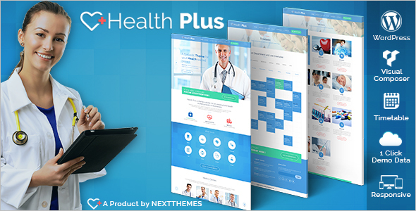 Medical Hospital WordPress Template