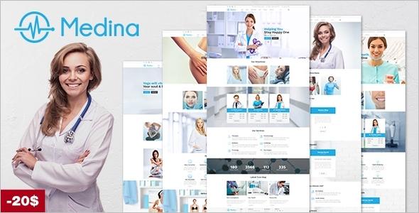 Medical Medican WordPress Template