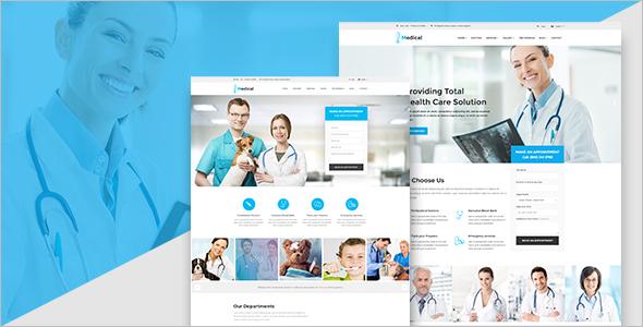 Medical Pharmacy WordPress Website Template