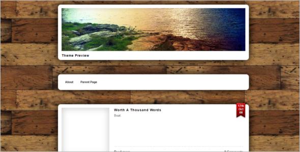 Microformat Open Source WordPress Template