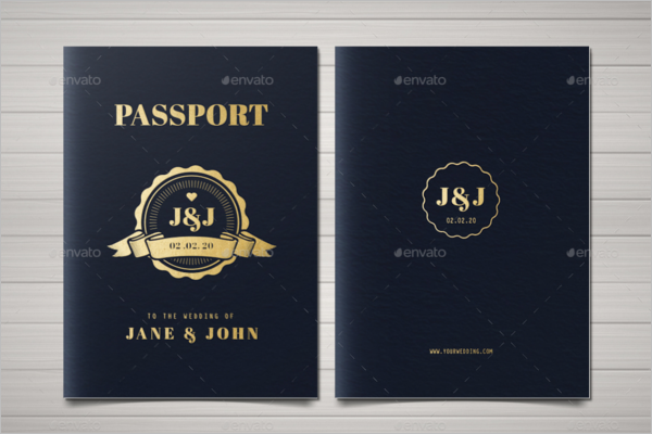 Microsoft Word Passport Template