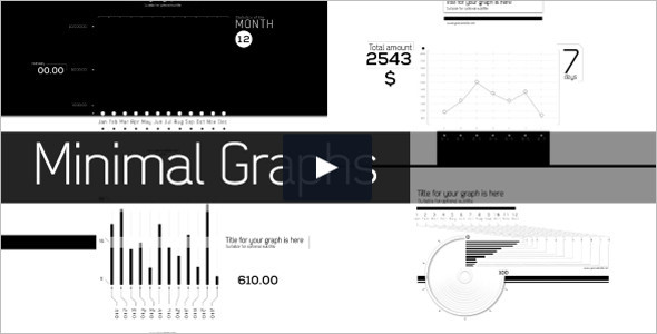 Minimal Graphs Infographics Video Template