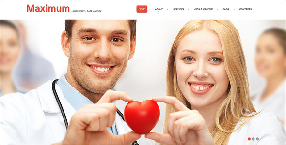 Minimal Medical WordPress Template