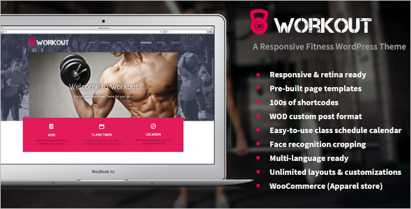 Miscellaneous Gym Website Template