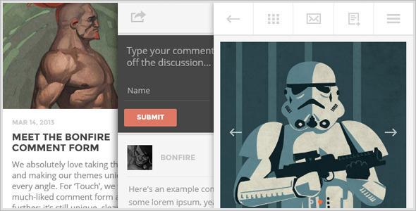 Mobile Friendly Lighter WordPress Theme