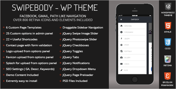 Mobile Friendly Version WordPress Theme