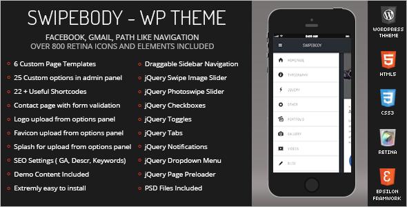 Mobile Friendly Version WordPress Theme