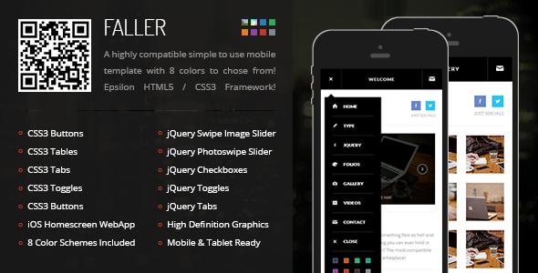 Mobile Retina HTML5 & CSS3 with WebApp
