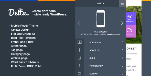 Mobile Switcher WordPress Template