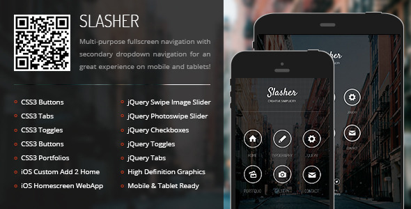 Mobile & Tablet Responsive Template